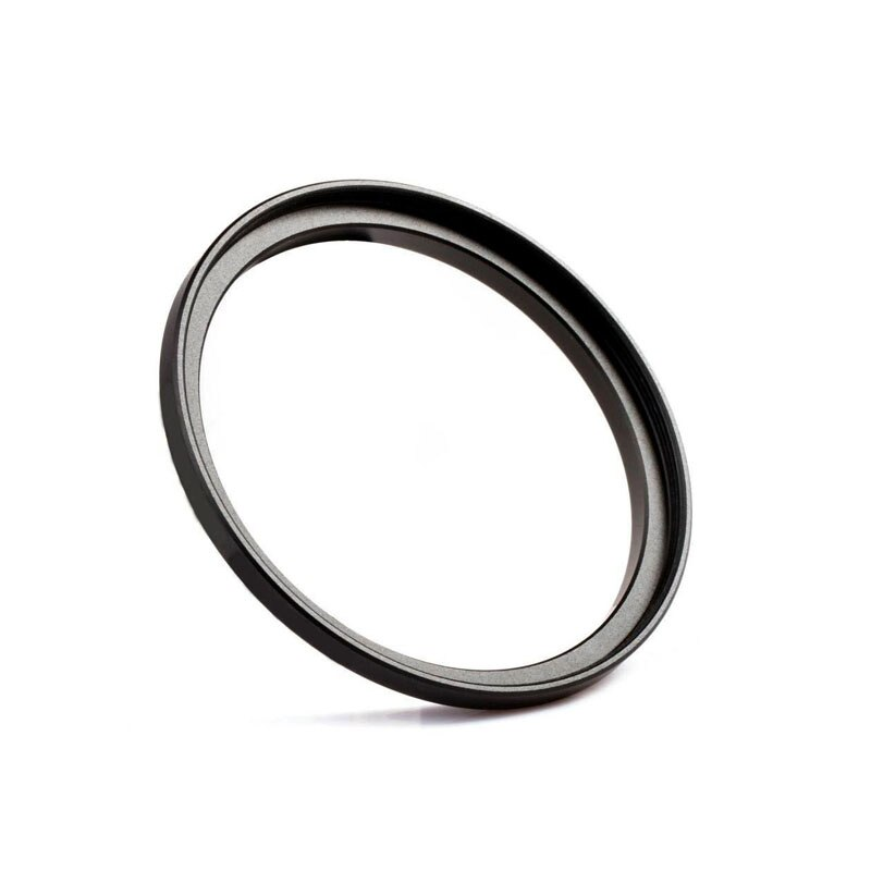 Metal negro 46mm-58mm 46-58mm 46 a 58 Step Up anillo adaptador para filtros cámara de alta calidad 46mm lente a 58mm tapa de filtro
