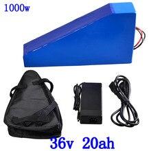 36V batterie de vélo électrique 36V 20AH 22AH batterie au Lithium 36V 350W 500W 1000W Ebike batterie avec 30A BMS avec 2A chargeur gratuit