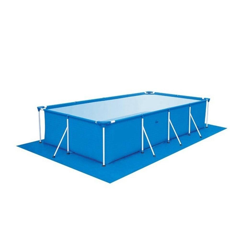Gran piscina de tamaño ronda tela labio cubierta a prueba de polvo piso tela Mat para Villa para exteriores jardín, piscina, gran oferta