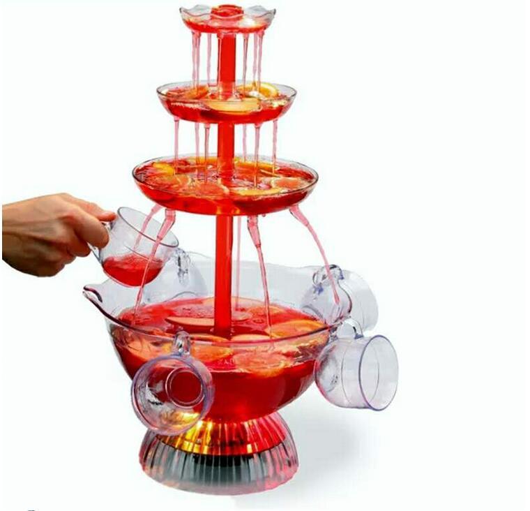 Máquina de puntos para fiesta de cumpleaños, dispensador de agua para bebidas, vino tinto y zumo, máquina de cerveza