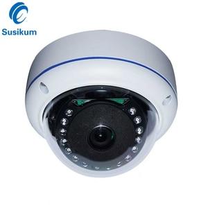 2MP Panoramic Camera AHD 360 Degree 1.56mm Lens Metal Dome Vandalproof 1080P Security Cameras Surveillance