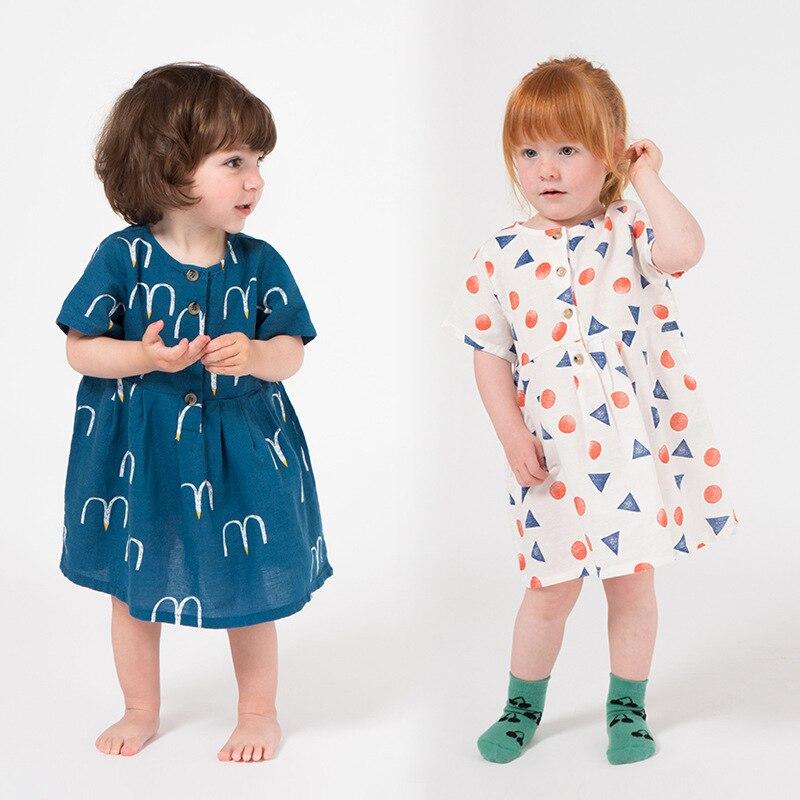 Vestido tutú para niñas BOBO 2019, vestido para niños pequeños, vestidos para niño niña, ropa para niños