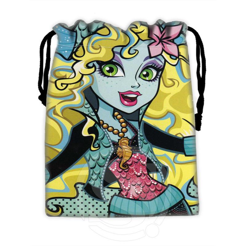 Bolsas con cordones Monster high #6 personalizadas de H-P762 para teléfono móvil, tableta, PC, bolsas de regalo de 18x22cm SQ00806 # H0762