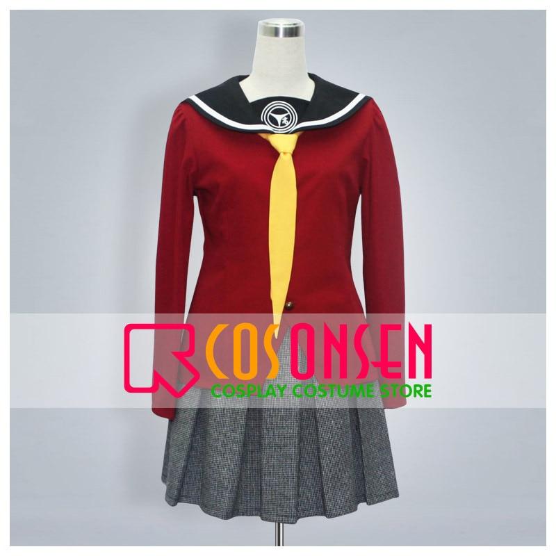 COSPLAYONSEN Persona 4 Yukiko Amagi Uniform Cosplay Costume Any Size Custom Made