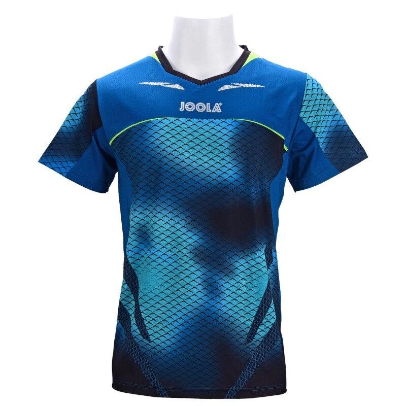 Auténtica ropa de tenis de mesa Joola para hombres y mujeres, camiseta de manga corta, camiseta de Ping Pong, Jersey deportivo 771