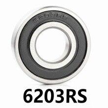 1pcs/lot 6203RS Deep Groove Ball Bearing 6203-RS 6203RS 17*40*12mm 17*40*12 High Quality