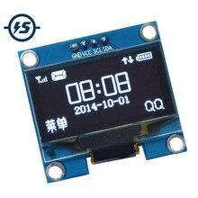 """OLED Display Module IIC I2C Interface 1.3"""" 1.3 inch White 128x64 3-5V OLED Screen Board For Arduino"""