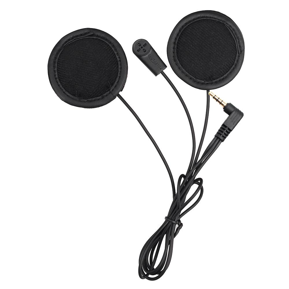 fodsports V6 soft microphone earphone only for V6 V4 motorcycle helmet bluetooth intercom headset