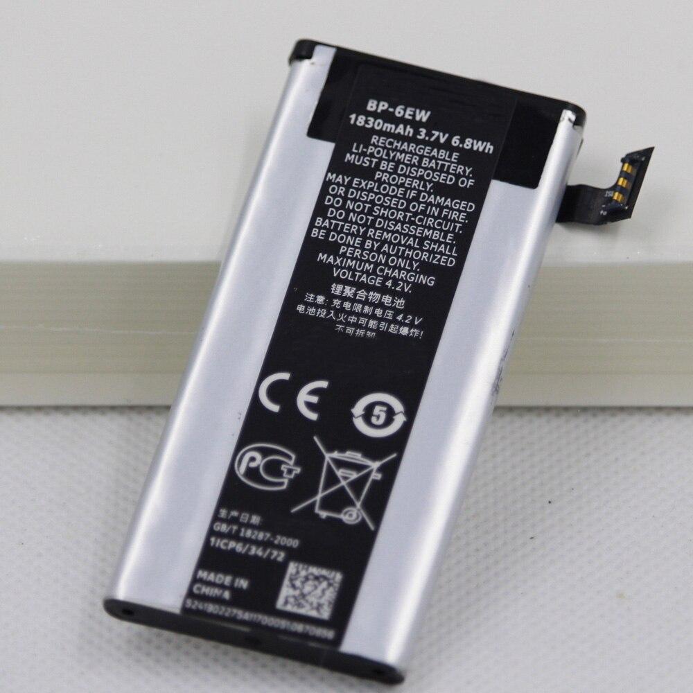 Batería de teléfono móvil BP-6EW de 1830mAh para Nokia Lumia 900 Eloko...