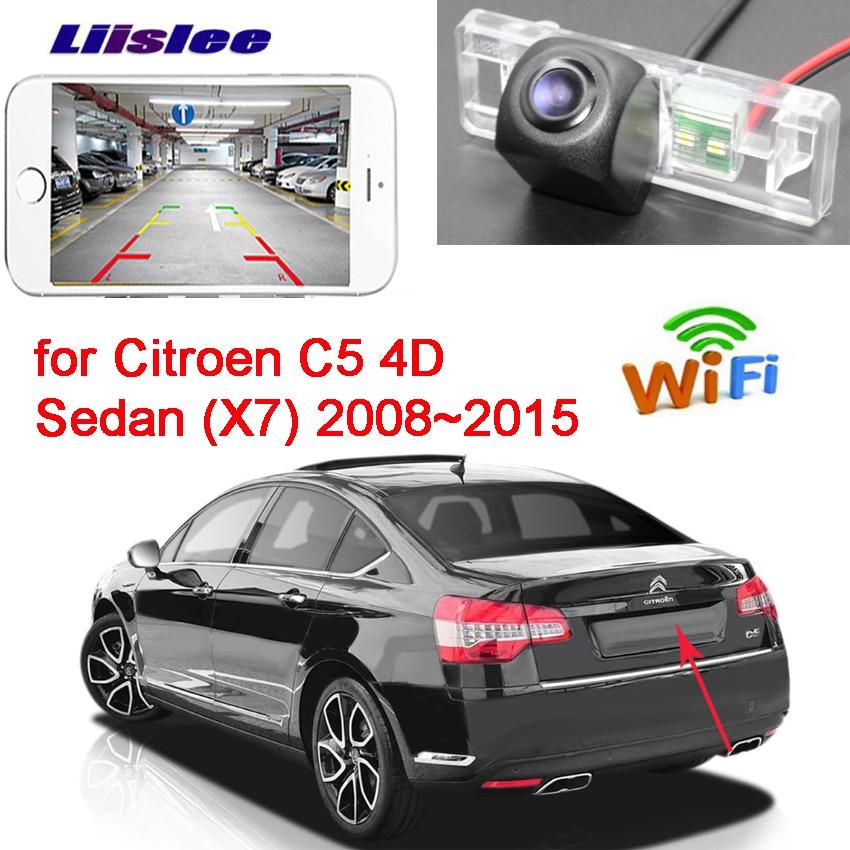 LiisLee New Arrival! Car wireless backup Reverse camera for Citroen C5 4D Sedan (X7) 2008~2015 Waterproof CCD HD
