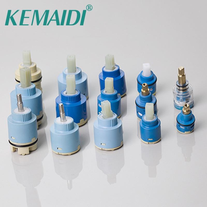 Mezcladores de cartucho y grifos de palanca de latón de diseño único de KEMAIDI, accesorios para grifos