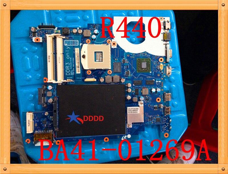 الأصلي لسامسونج R439 اللوحة الأم للكمبيوتر المحمول BA41-01269A اختبارها بالكامل