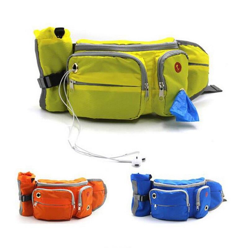 Correa transportadora de perros para exteriores, bolsas de Snak para perros, gatos, malla portátil desmontable para mascotas, tren para perros, bolsas de aperitivos, suministros para mascotas