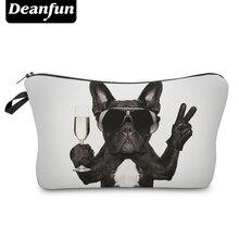 Deanfun 3D Printing Pug Cosmetic Bags Women Travelling Makeup Organizer Necessaries   50905