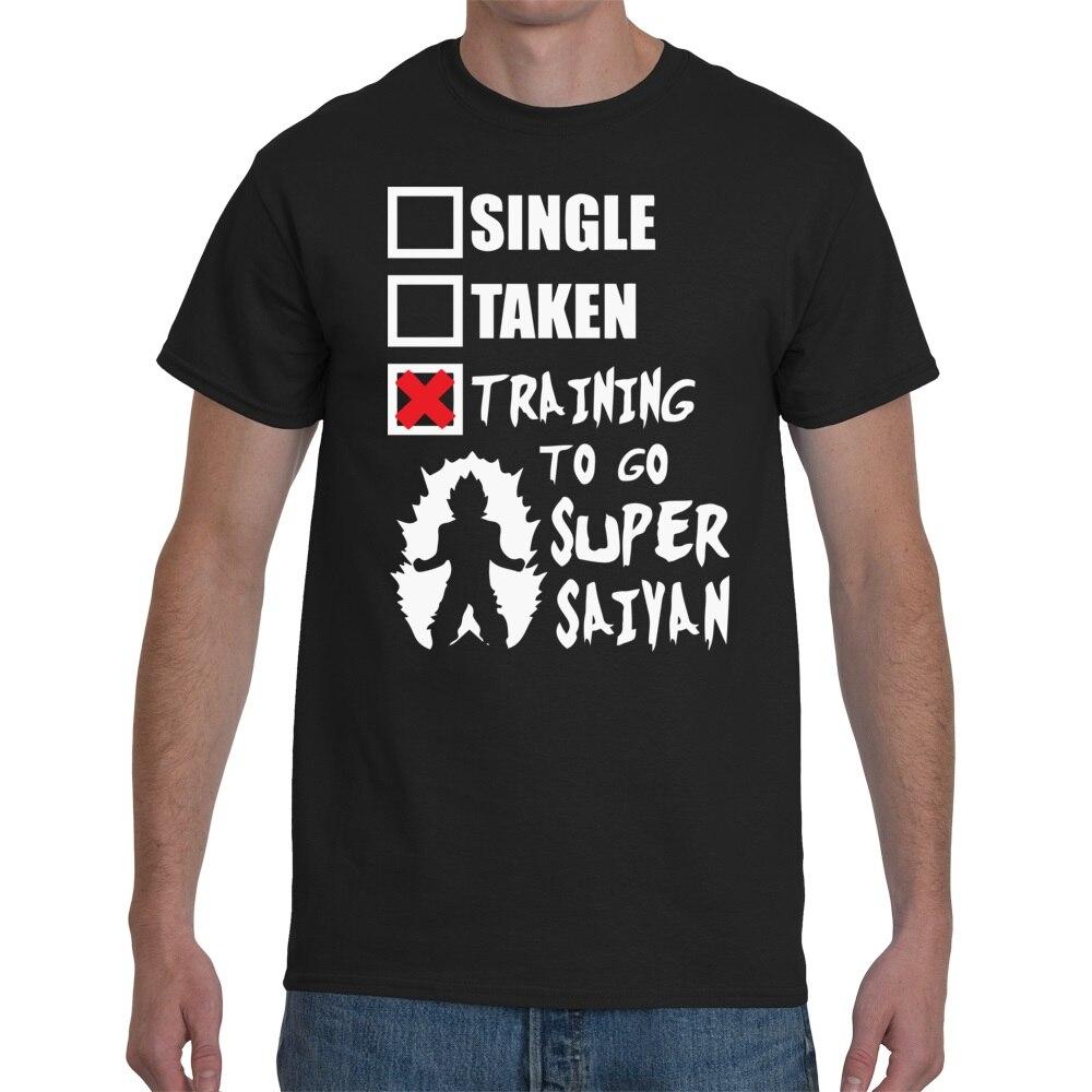 Camiseta Dragon Ball Z Relationship 2018 para hombre, camisetas a la moda, ropa casual divertida, camisetas con personalidad