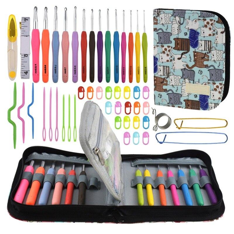 1 set Große Eye Nadeln DIY Handwerk Werkzeuge Edelstahl Stickerei Kreuz Stich Stricken Garn Nähen Hand Häkeln Haken Set