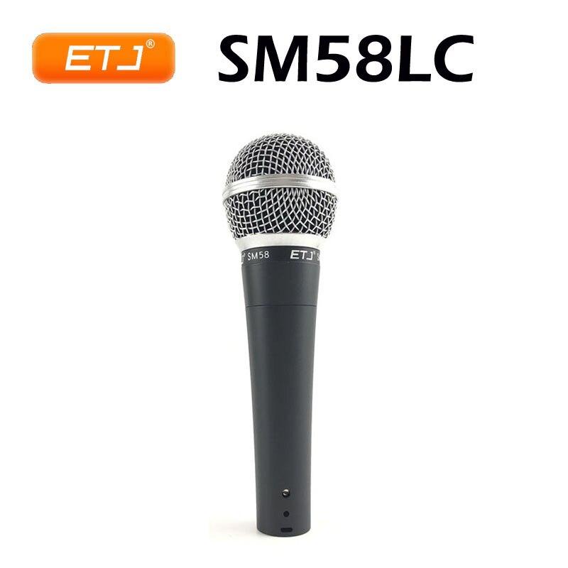 Micrófono profesional SM 58 Vocal Karaoke portátil con cable dinámico micrófonos excelente...