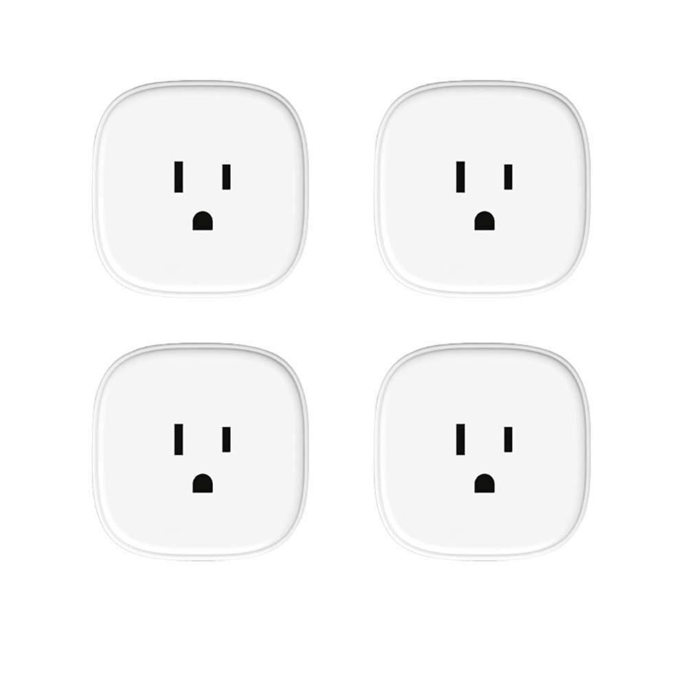 Prise WiFi intelligente, Assistant Amazon Alexa et Google et IFTTT pris en charge, télécommande App-4 Pack Meross MSS310US