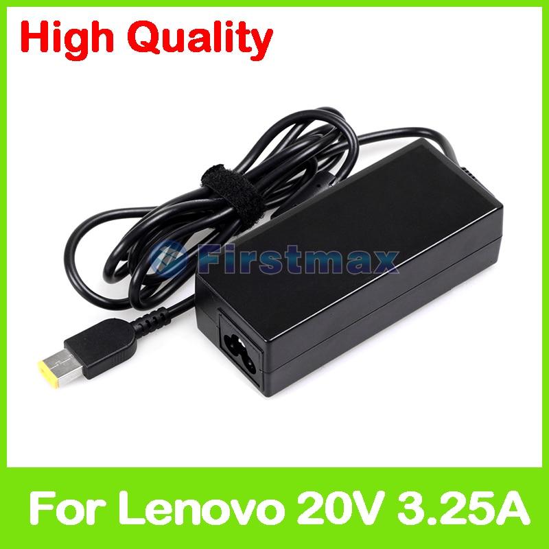 65W 20V 3.25A adaptador de CA del ordenador portátil para Lenovo IdeaPad 300-15ISK 300-17ISK 300S-11IBR 300S-14 500-15 500S-13ISK 500S-15ISK cargador