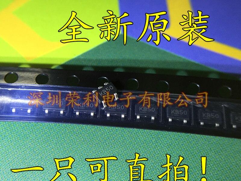 500 قطعة/الوحدة جديد MIC5205-5.0YM5 MIC5205-5.0BM5 سوت-23 شاشة الطباعة: KB50 LDO منظم