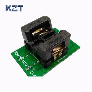 OTS-28-0.65-01 SSOP20 TSSOP20 DIP20 Programming Socket IC Test Socket Programmer Adapter Shrapnel Socket Convertor Conector