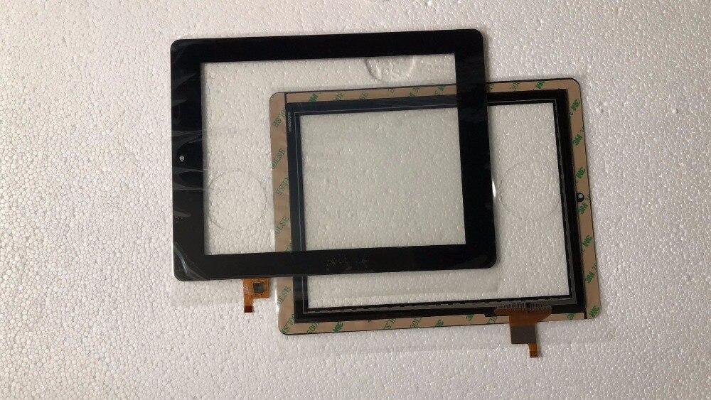 """De stock real negro Nuevo 8 """"Pantalla táctil prestigio MultiPad 2 PMP 7280C 3G DUO prestigio PMP7280c 3G digitalizador 080088-01A-V2"""