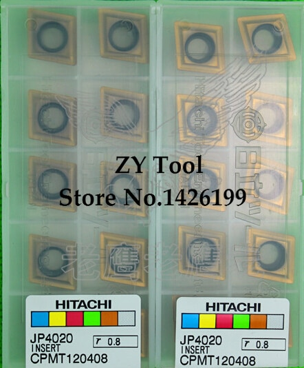 CPMT120408 JP4020, HITACHI hartmetallspitze Dreh, einsatz der schaum, bohrstange, CNC werkzeug, maschine, Factory outlets