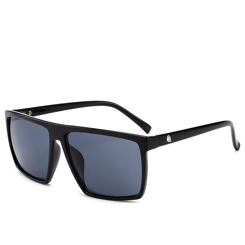 2021 New Fashion Men Cool Square Style Gradient Sunglasses Vintage Brand Design Cheap Sun Glasses Oc