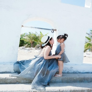 Mommy and Me Dress Family Matching Outfits Clothes Backless Beach Dresses Silvery Summer Mom Daughter Sweet Clothing