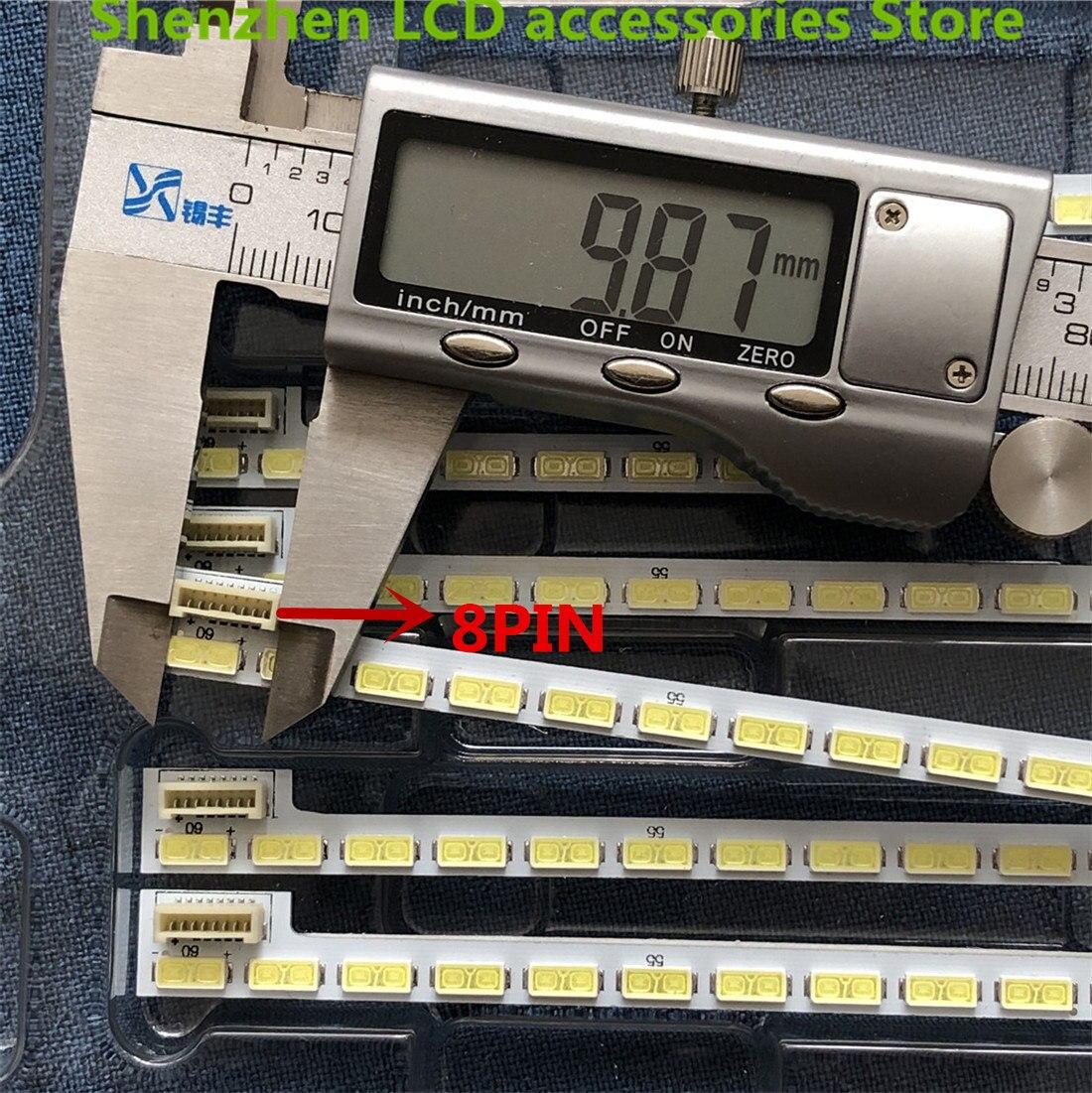 2 teile/los 60LED 525mm led-hintergrundbeleuchtung streifen für LG 42LS570T 42LS570S 42LS575S T420HVN01.0 42 zoll 7030PKG 60ea 74.42T23.001- 2-DS1