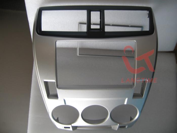 Car refitting DVD frame, panel,Dash Kit,Fascia,Radio Frame,Audio frame for 08-2013 Honda City (Aircon Manual),2DIN