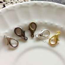 18MM*9MM 100Pcs Alloy Lobster Clasps & Hooks Jewelry Accessories Findings