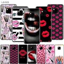 Lavaza Roten Lippen Lippenstift Küsse Fall für Huawei P30 P20 P10 P9 P8 Mate 20 10 Pro Lite P Smart 2017