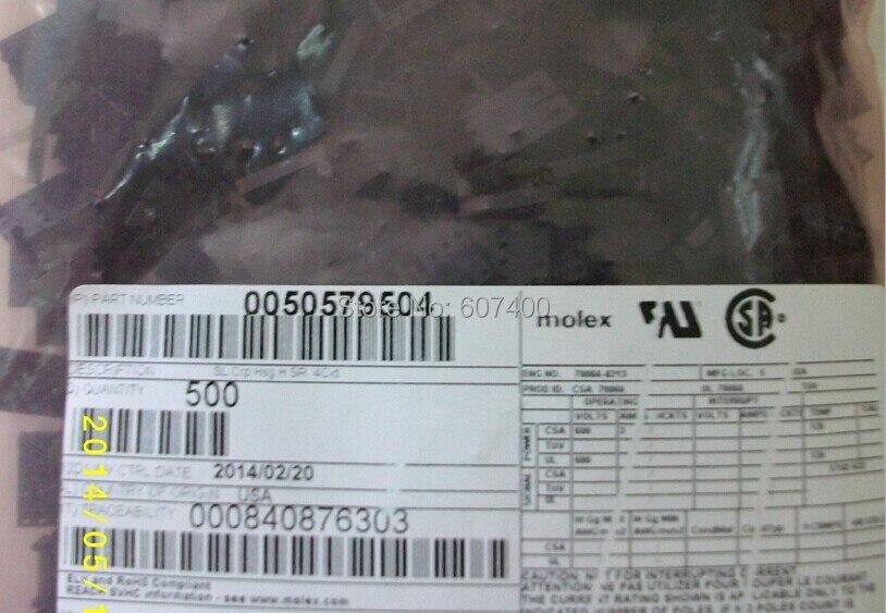 0050579504 مبيت موصل RCPT .100 4POS ، أسود ، 5057-9504 ، موصلات موليكس ، علب 50-57-9504 100% ، جزء أصلي وجديد