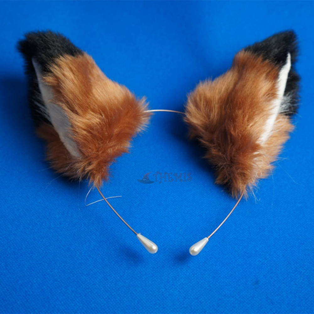 Athemis Zootopia Zootropolis Джуди хопс косплей аксессуары ручной работы головной убор повязка на голову заколки «кошачьи ушки» хвост