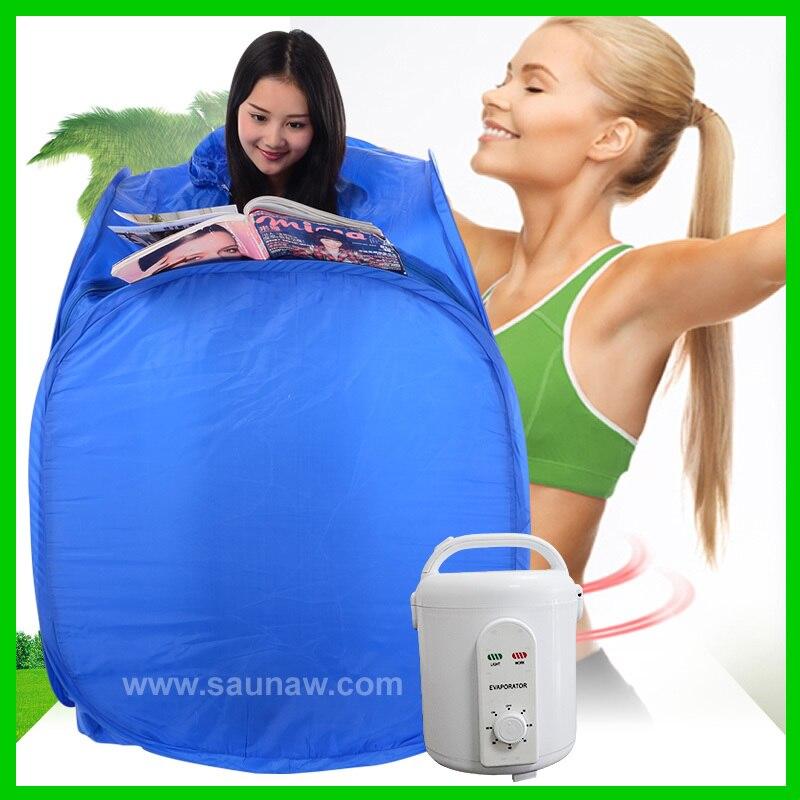 Mini sauna de vapor ozono plegable portátil para el hogar a la venta, bolsa de sauna de vapor, spa de belleza de sauna de vapor portátil
