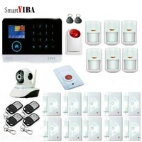 SmartYIBA systeme dalarme LCD TFT   Securite domestique  Wifi sans fil GSM  alarme APP  moniteur a distance  IOS Android GPRS  alarme residentielle SMS