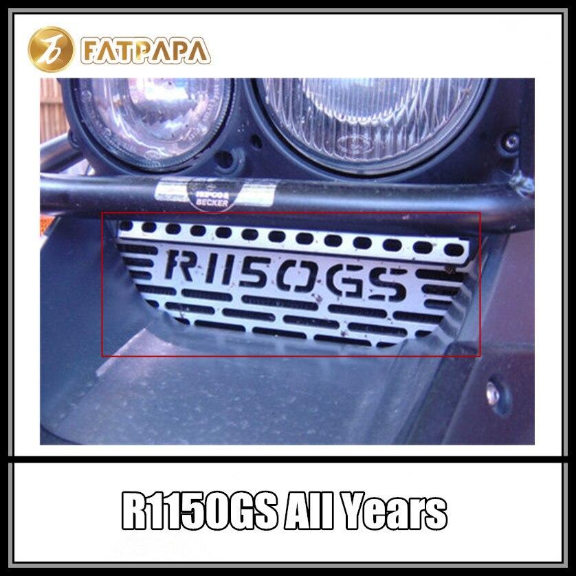 Proteção do radiador do refrigerador de óleo das peças da motocicleta para bmw r1150gs