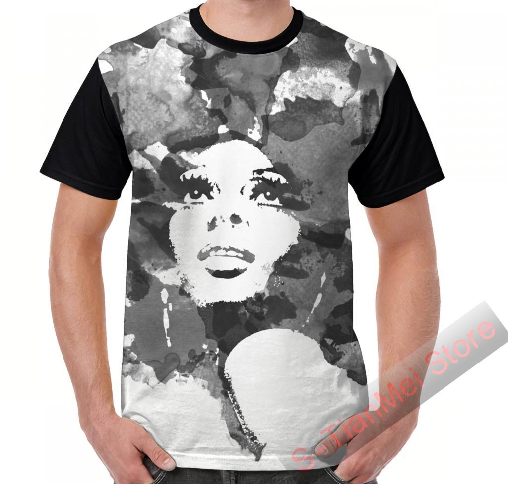 Summer Graphic t shirt men tops tees Dirty Diana printed women funny T-Shirt Short Sleeve Casual tshirts