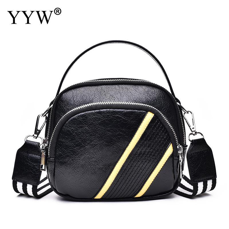 Crossbody Bag Messenger Bags For Women 2018 Luxury Handbags Women Bags DesignerBlack Pu Shoulder Handbag Girl Bolsos Mujer