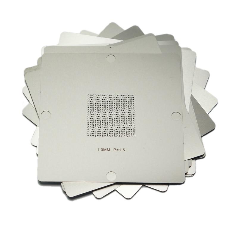 Universal Stencil BGA Reballing Kit com 29 pçs/lote 90*90mm 90x90 90mm BGA Stencils BGA Reballing stencil 0.5/0.6/0.65/0.76/1.0