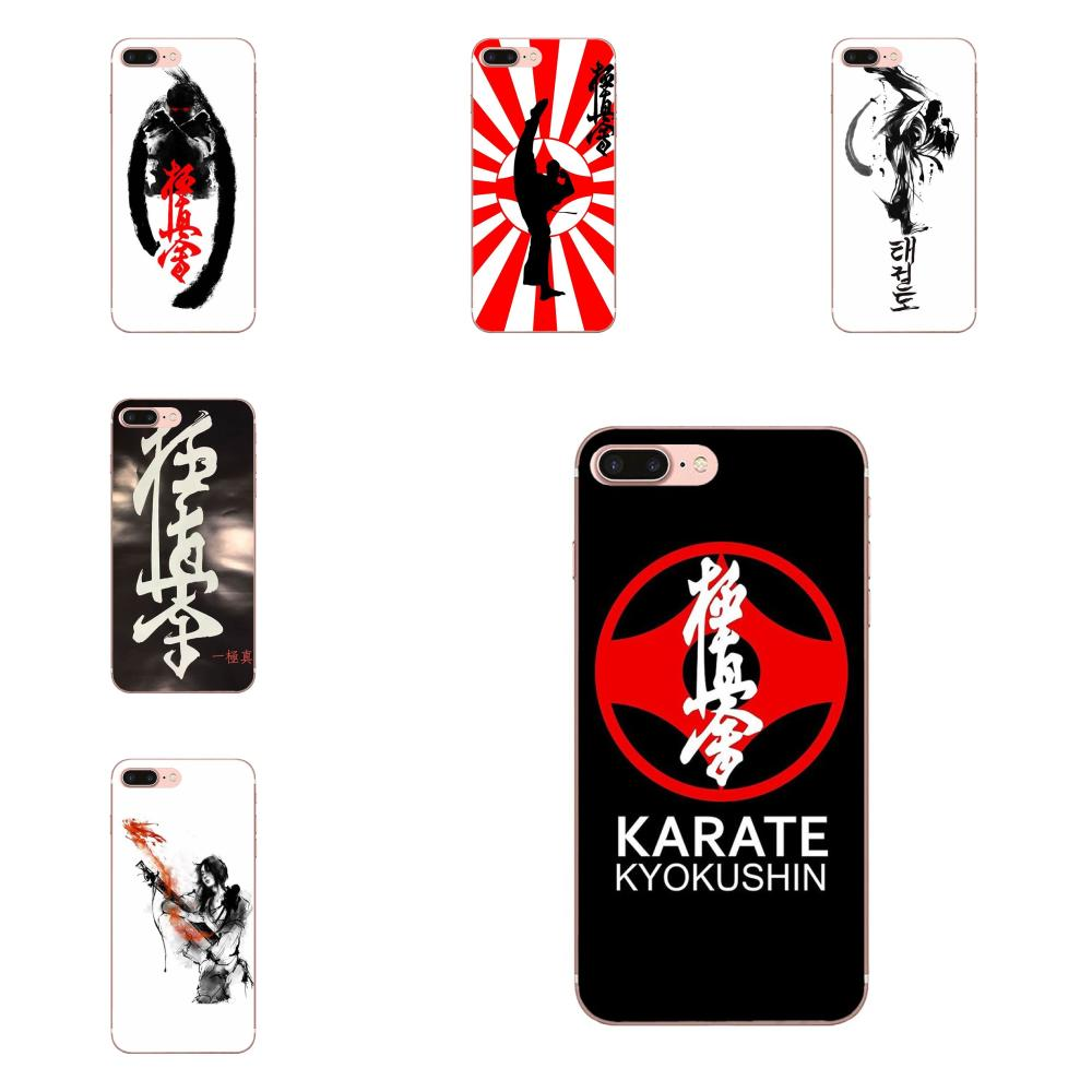 Historia del Karate para niños Kyokushin grados para HTC 530, 626, 628, 630, 816, 820 A9 M7 M8 M9 M10 E9 U11 Moto G G2 G3 G4 G5 G6 G7 TPU carcasa móvil
