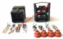 20 Sets 4 Pin 357941165 Vrouwelijke Mannelijke Auto Connector 6.3 Serie Voor VW Met Terminals
