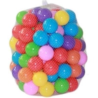 100pcs bag 5 5cm marine ball colored childrens play equipment swimming ball toy color