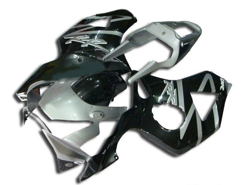 L36-Motorcycle Completa Plástico ABS Carenagem Kits Para CBR900RR 954 02-03 2002 2003 Carenagens Prata Multi-cor preta sportbikes