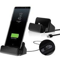 Зарядная док-станция с Micro USB Type-C для Huawei Mate 20 10 P20 Pro P30 Lite Honor 8 9 10 Lite 5X 5A 4X 4A Y6 Y3 Y5 II