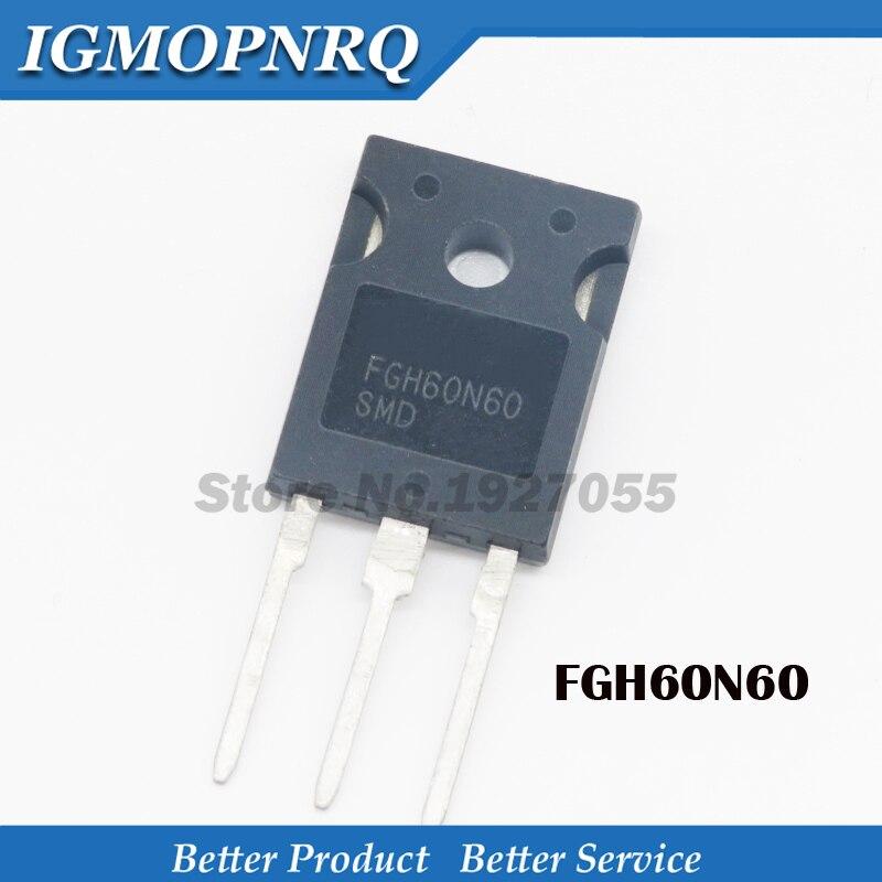5 uds FGH60N60SMD FGH60N60 TO-247 H60N60 IC inversor tubo de la máquina de soldadura nuevo Original