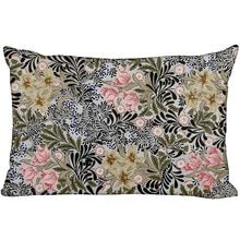 Custom William Morris New Arrival Rectangle Pillowcases Zipper Custom Pillow Cover Wedding Decorative Christmas Gift