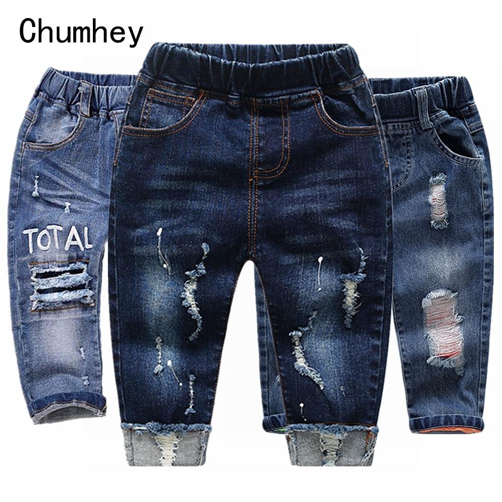 Джинсы Стрейчевые для мальчиков и девочек, на возраст 1 6 лет girls jeans jeans boys pantsbaby boy jeans pants   АлиЭкспресс