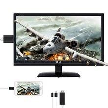 Câble de convertisseur intelligent USB HDMI 1080P pour Apple iPhone HDTV TV 8 broches vers HDMI câble mâle numérique AV pour iPhone pour IOS dédouanement